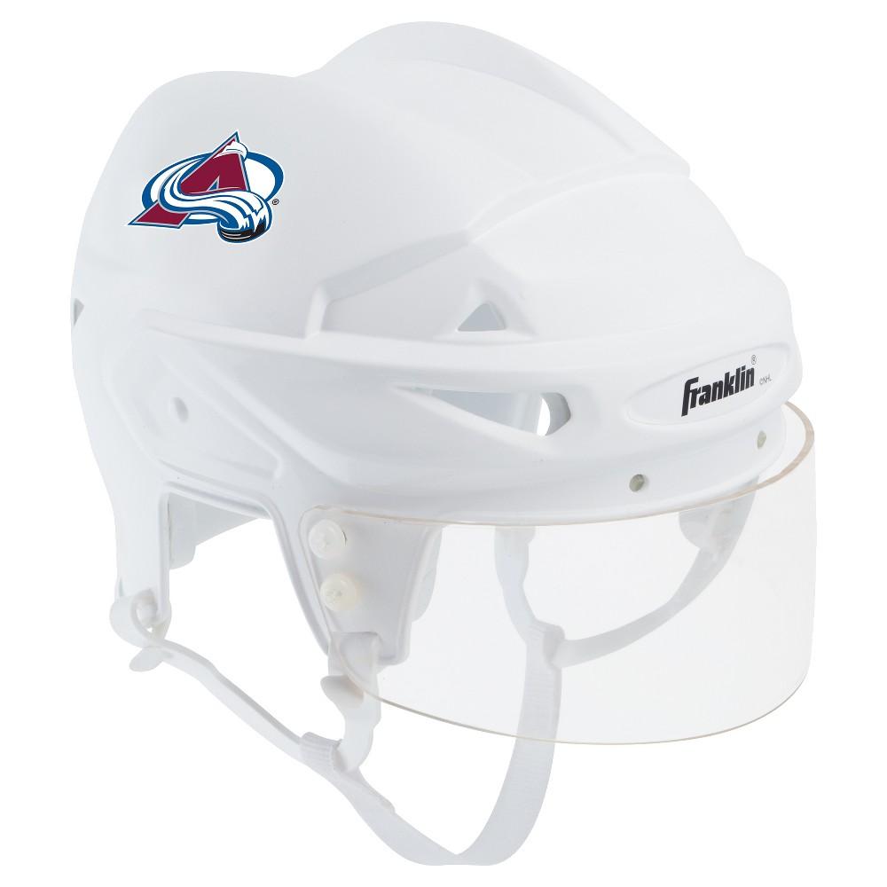 Franklin Sports Nhl Team Licensed Mini Player Helmet Colorado Avalanche