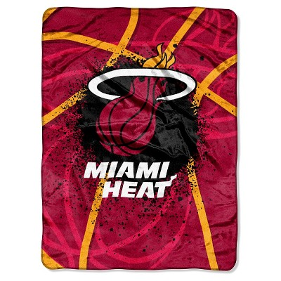 The Northwest Company Officially Licensed NBA Shadow Play Plush Raschel Throw Blanket 60 x 80 Team Color