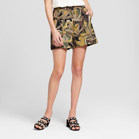 Women's Utility Shorts - Who What Wear™ - image 1 of 3