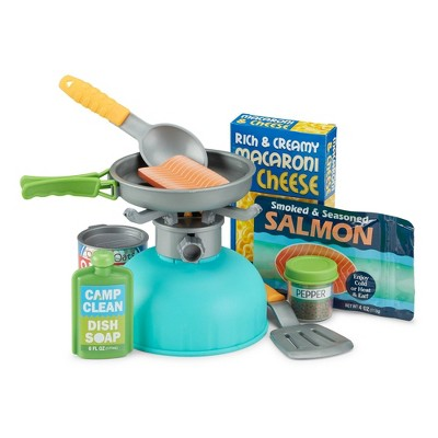 Melissa & Doug Let's Explore Outdoor Cooking Play Set