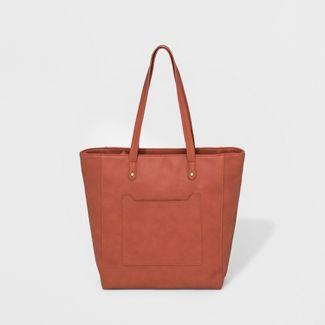 Zip Closure Tote Handbag - Universal Thread™ Tan
