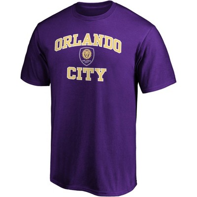 MLS Orlando City SC Men's Short Sleeve Crew Neck Core T-Shirt