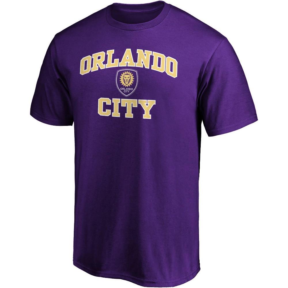 Mls Orlando City Sc Men 39 S Short Sleeve Crew Neck Core T Shirt L