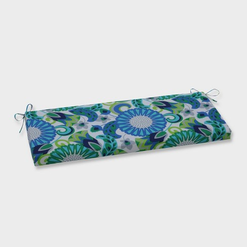 Sophia Outdoor Bench Cushion Green - Pillow Perfect - image 1 of 1