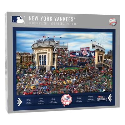 MLB New York Yankees 500pc Find Joe Journeyman Puzzle