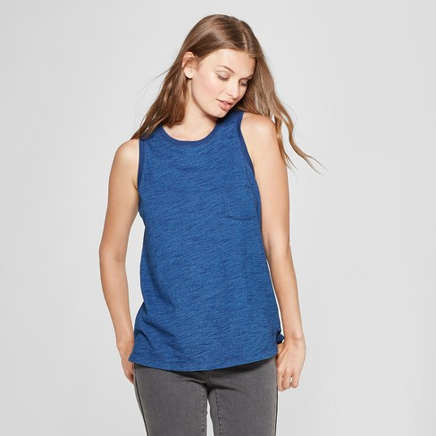 Women's Knit Muscle Tank Top - Universal Thread™ - image 1 of 3
