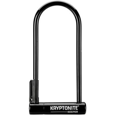 """Kryptonite Keeper U-Lock 4 x 10"""" Black"""