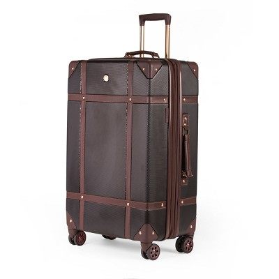 "SWISSGEAR 26"" Hardside Trunk Expandable Suitcase - Brown"