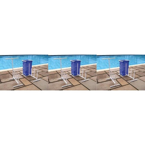 Swimline Hydrotools 8903 Swimming Pool Mesh Bag Toys Poolside Organizer (3 pack) - image 1 of 3