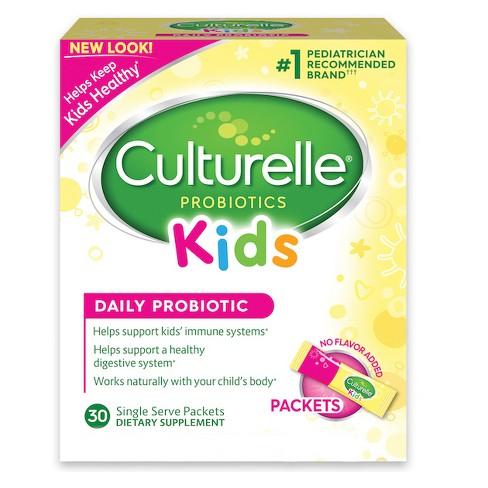 Culturelle Kids Probiotic Packets - image 1 of 5