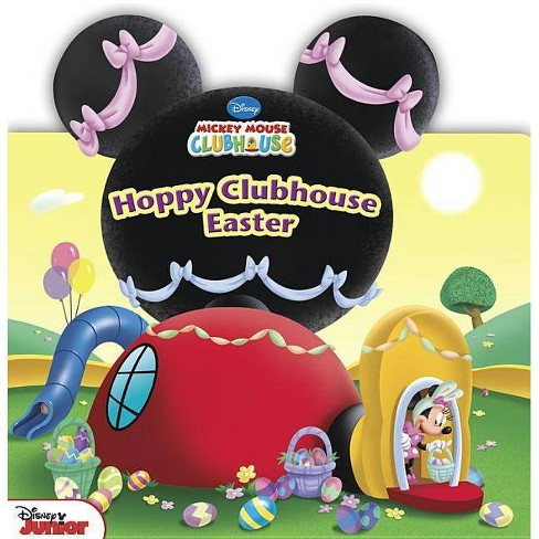 Hoppy Clubhouse Easter by Marcy Kelman (Board Book) - image 1 of 1