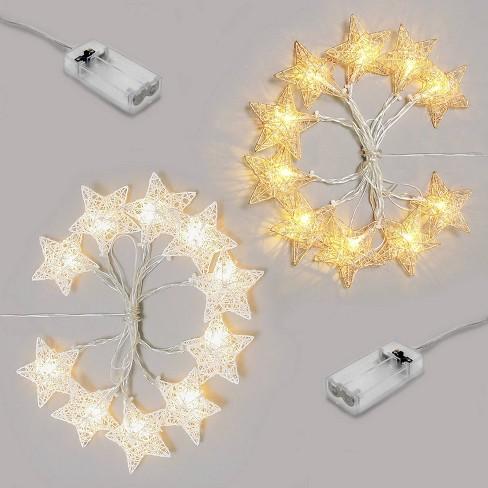 2pk LED Star String Lights - Bullseye's Playground™ - image 1 of 1