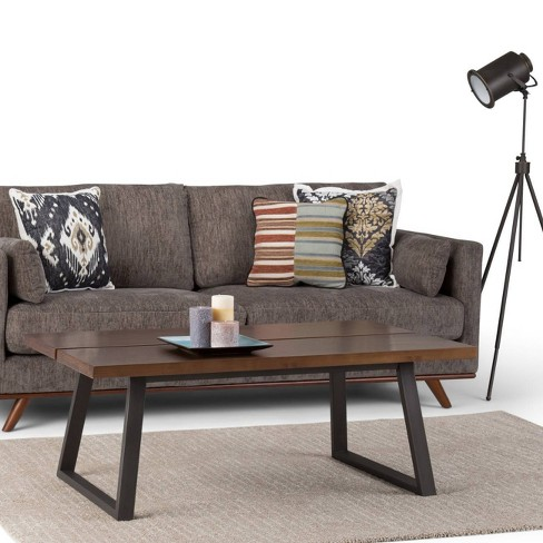 Light Colored Wood Coffee Table.Tyson Solid Wood Coffee Table Light Walnut Brown Wyndenhall