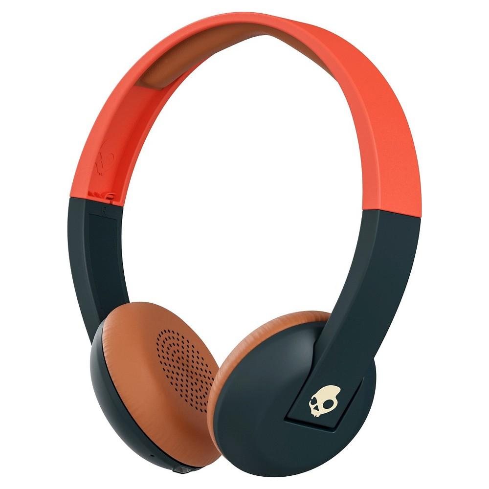 Skullcandy Uproar Wireless One-Ear Headphone Orange, Blue Orange