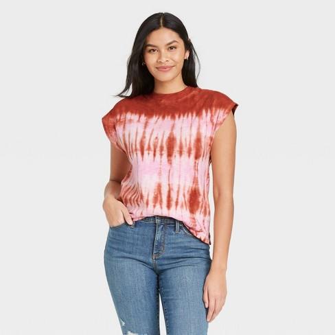 Women's Cap Sleeve Muscle T-Shirt - Universal Thread™ - image 1 of 3