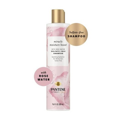 Pantene Blends Moisture Boost with Rosewater Shampoo - 9.6 fl oz