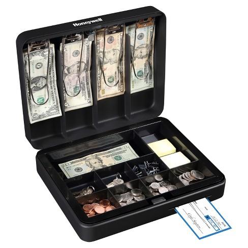 Honeywell Deluxe Steel Cash Box - image 1 of 4