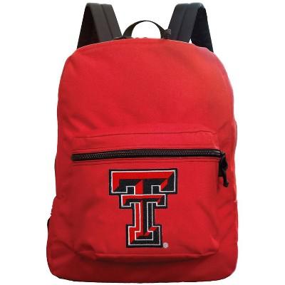 NCAA Texas Tech Red Raiders Red Premium Backpack