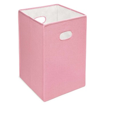 Pastel Pink Decorative Bin - Badger Basket