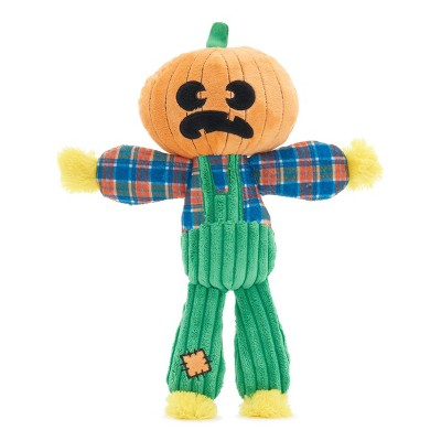 BARK Scarecrow Dog Toy - Ol' Pumpkin Patches