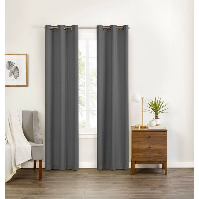 "84""x40"" Celeste Draft Stopper Blackout Curtain Panel - Eclipse"