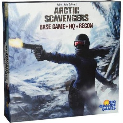 Arctic Scavengers - Base Game w/HQ & Recon Board Game