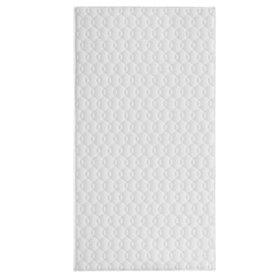 Dream On Me Goodnight 6  Full-Size Firm Foam Crib & Toddler Bed Mattress - White