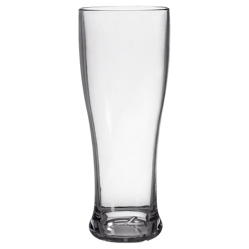 CreativeWare Set of 8 Pilsner Glasses 22oz Acrylic - image 1 of 2