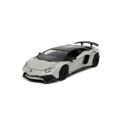 HyperSpec 2017 Lamborghini Aventador 1:24 Scale Die-Cast Vehicle - Gray
