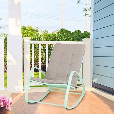 Outdoor Rocking Chair - Green - Captiva Designs