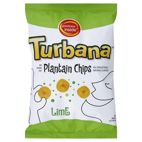 Turbana Lime Plantain Chips - 7oz/12pk - image 1 of 1