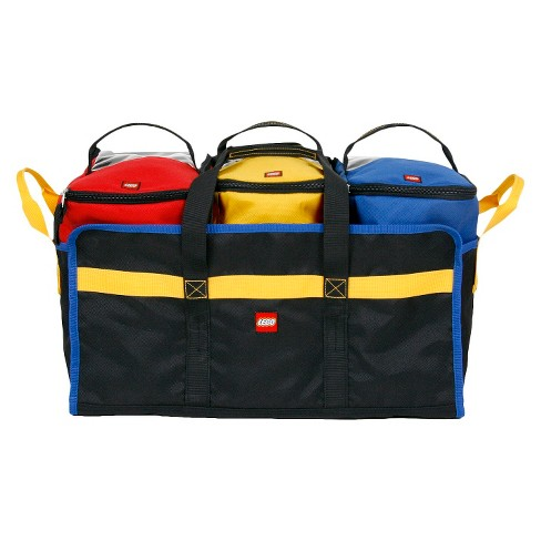 LEGO 4pc Tote and Play Mat - image 1 of 4