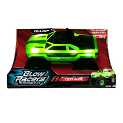 Glow Racers Hyper Climb Motorized Monster Truck Toy Vehicle