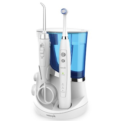 Waterpik Complete Care Oscillating Electric Toothbrush + Water Flosser- White