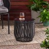 Boynton Wicker Side Table - Christopher Knight Home - image 2 of 4