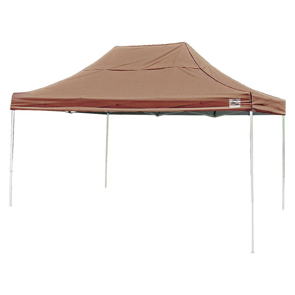 Shelter Logic 10' x 15' Pro Straight Leg Pop-Up Canopy - Desert Bronze, Dsrt Bronze