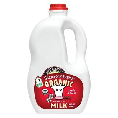 Shamrock Farms Organic Vitamin D Milk - 96 fl oz