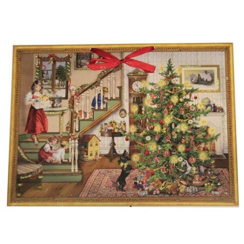 "Christmas 15.0"" Victorian Christmas Eve Advent Calendar  -  Advent Calendar - image 1 of 3"