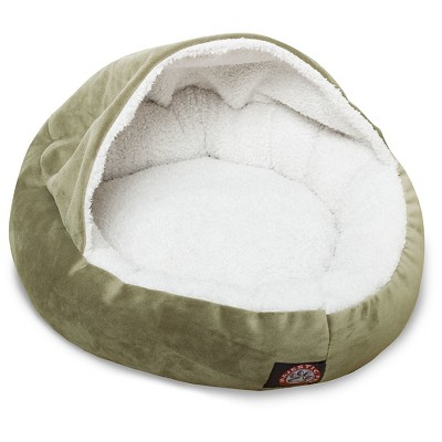 Majestic Pet Suede Canopy Cat Bed - 18""