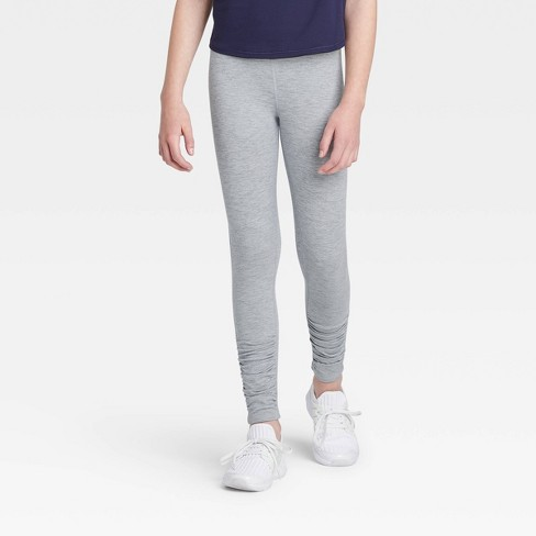 Girls' Ruched Performance Leggings - All in Motion™ - image 1 of 3