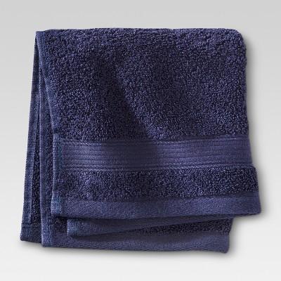 Performance Washcloth- Navy - Threshold™