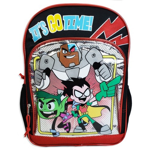 "Teen Titans 16"" Kids' Backpack - Red - image 1 of 5"