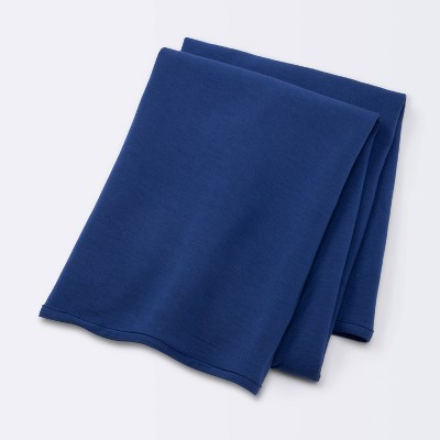 Rayon from Bamboo Swaddle Blanket - Cloud Island™ - Navy
