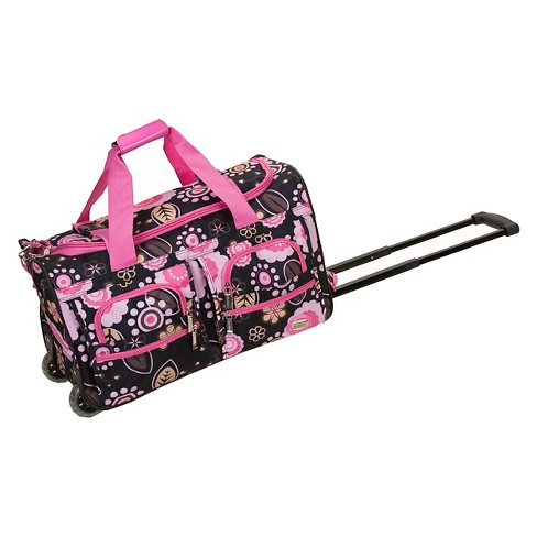 8752ac080acd Rockland Rolling Duffle Bag - Pucci (22