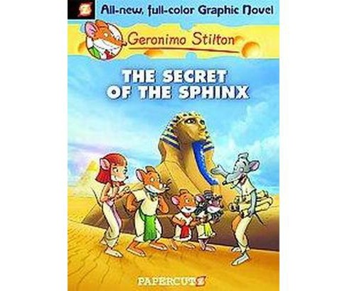 Geronimo Stilton 2 : The Secret of the Sphinx (Hardcover) - image 1 of 1