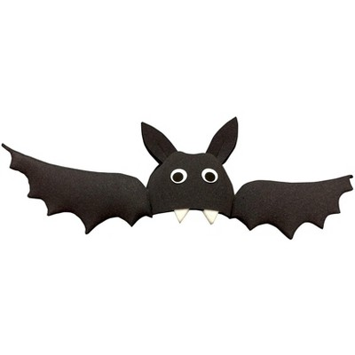 Funky Fresh Bat With Wings Adult Foam Costume Hat