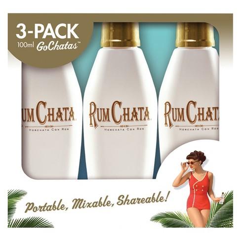 RumChata Rum Liqueur - 3pk/100ml Bottles - image 1 of 2