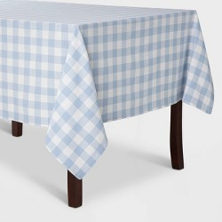 Check Tablecloth Blue - Threshold™