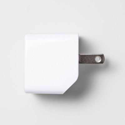 heyday™ USB Wall Charger - White