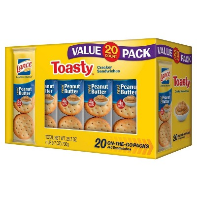 Crackers: Lance Toasty